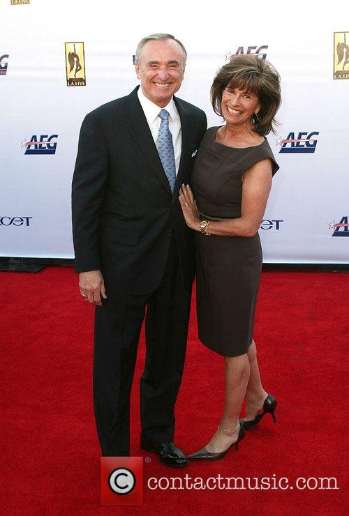 Chief William Bratton with wife The '2008 KCET...