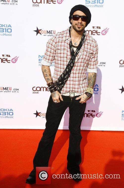 AJ McLean Viva Comet Awards 2008, held at...