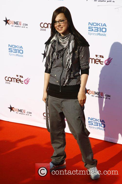 Stephanie Heinzmann Viva Comet Awards 2008, held at...