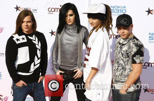 Tokio Hotel Viva Comet Awards 2008, held at...