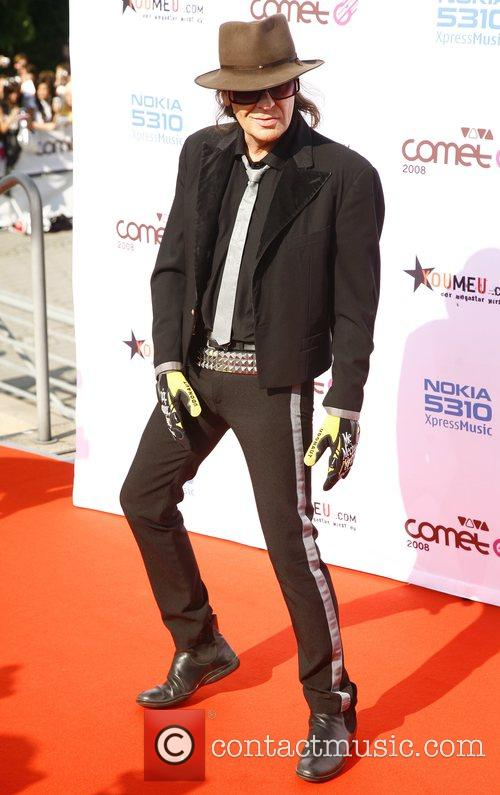 Udo Lindenberg Viva Comet Awards 2008, held at...
