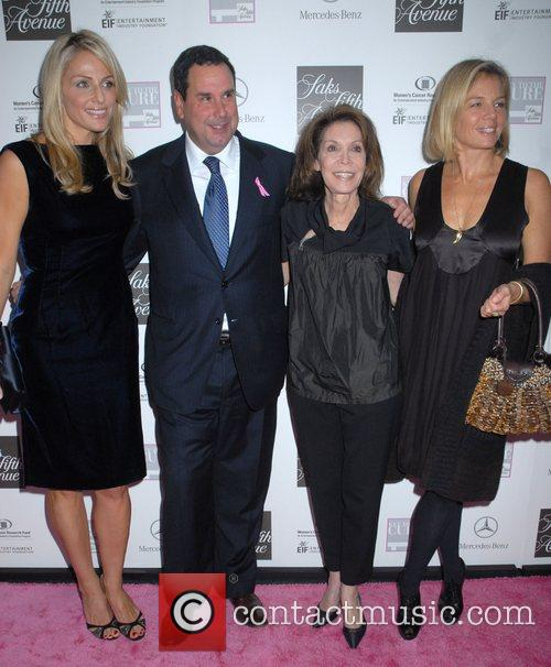 Jamie Tisch, Steve Sadove, Marion Laurie and Kelly...