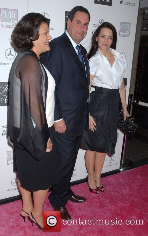 Karen Sandove, Steve Sadove and Kristin Davis Viva...