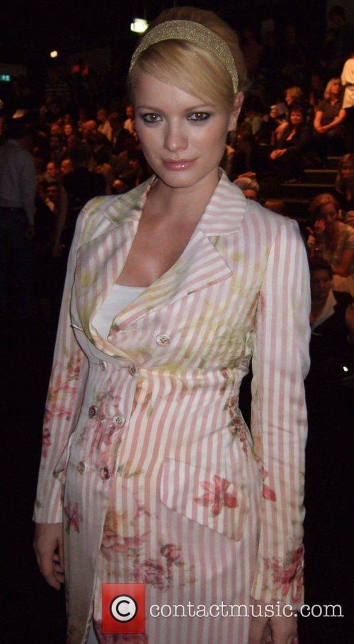 Franziska Knuppe Vivienne Westwood Fashion Show during the...