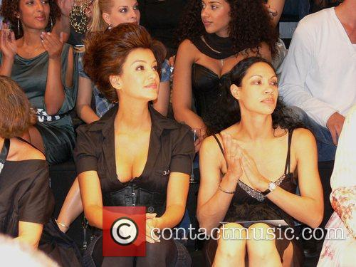 Verona Pooth and Chantal de Freitas Vivienne Westwood...