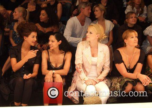 Verona Pooth, Chantal de Freitas, Franziska Knuppe and...
