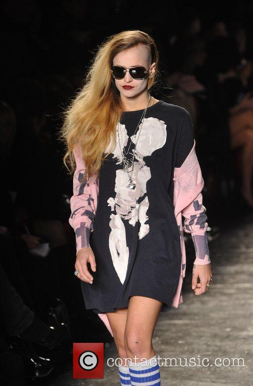 Model and Vivienne Westwood 3