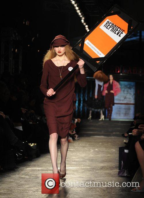 Model and Vivienne Westwood 13