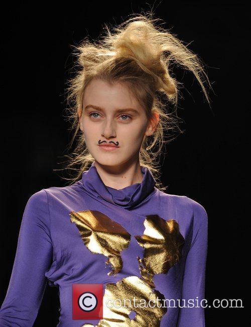 Model and Vivienne Westwood 21