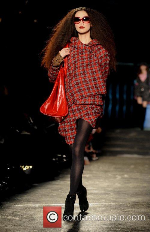 Model and Vivienne Westwood 9