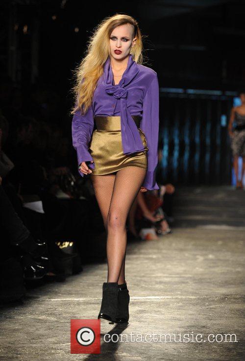 Model and Vivienne Westwood 16