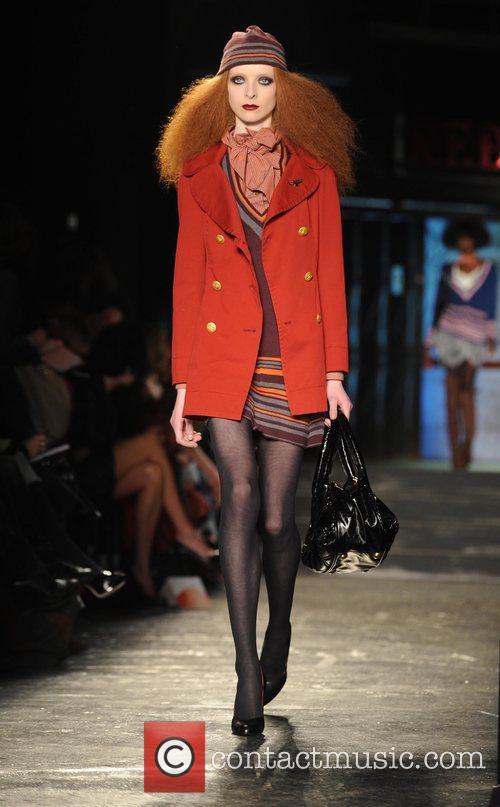 Model and Vivienne Westwood 17