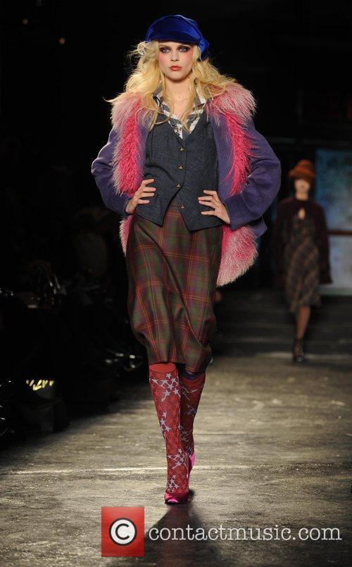 Model and Vivienne Westwood 12