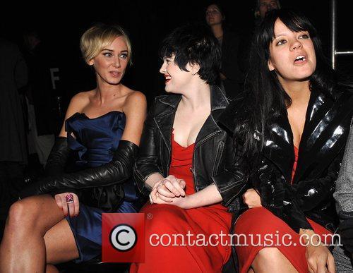 Kimberly Stewart, Kelly Osbourne and Vivienne Westwood 16