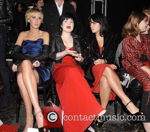 Kimberly Stewart, Kelly Osbourne and Vivienne Westwood 12