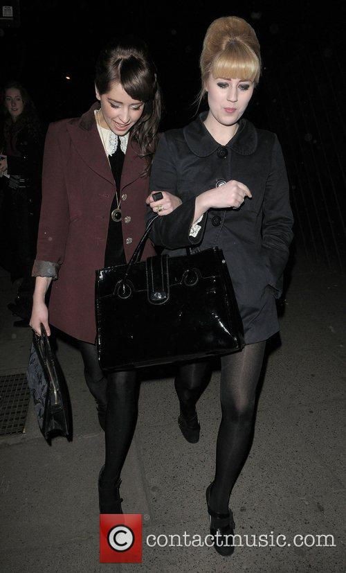 Peaches Geldof and Vivienne Westwood 1