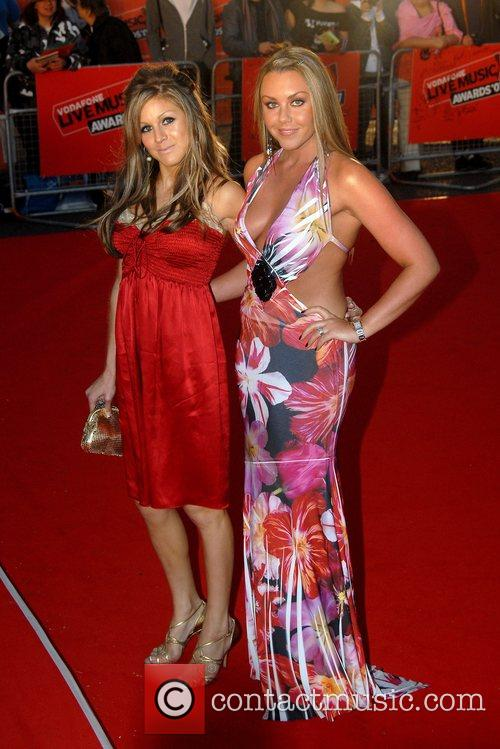 Michelle Heaton and Nicky Grahame Vodafone Live Music...