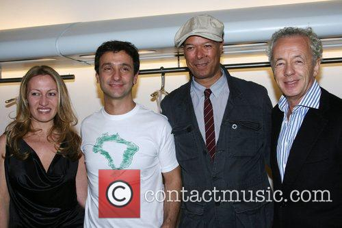 Caroline Trentini, Carlos Miele, Michael Roberts and Giles...