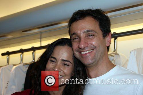 Catalina Sandino Moreno and Carlos Miele Carlos Miele...