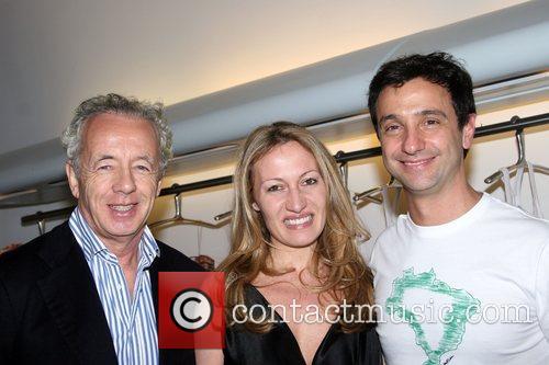 Giles Bensimon, Caroline Trentini and Carlos Miele Carlos...