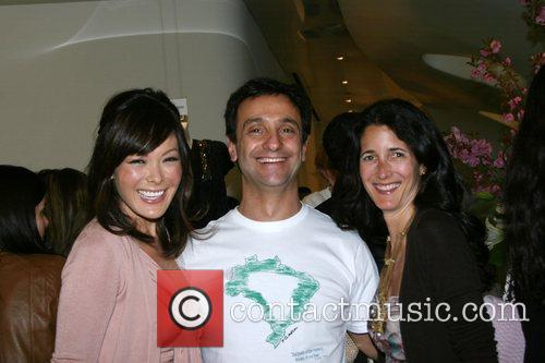Lindsey Price, Carlos Miele and Guest Carlos Miele...