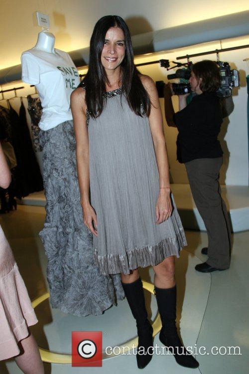 Patricia Velasquez Carlos Miele and Vogue's Cocktail Celebration...