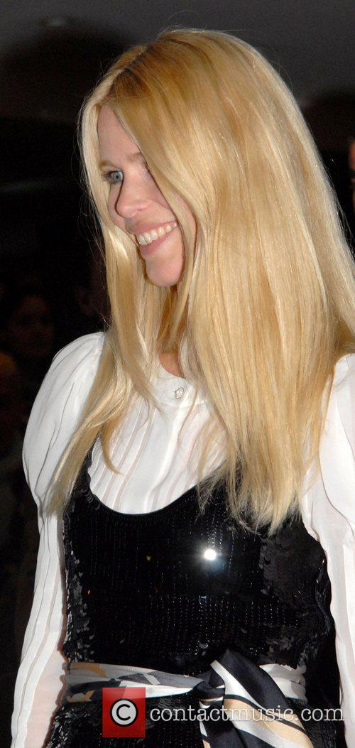 Claudia Schiffer 'Vogue Covers' launch at the Chanel...