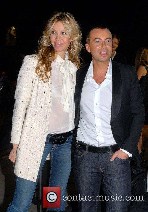 Julien Macdonald and guest 'Vogue Covers' launch at...