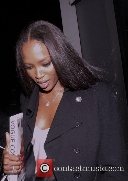 Naomi Campbell 'Vogue Covers' launch at the Chanel...