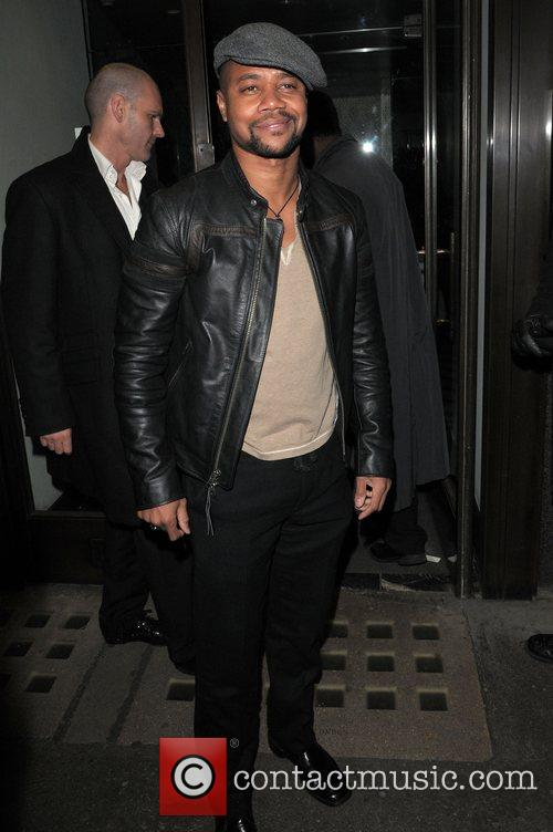 At the Vogue Pre BAFTA Party