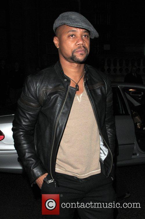 Cuba Gooding Jr. at the Vogue Pre BAFTA...