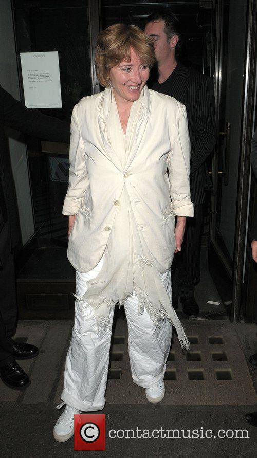 Emma Thompson at the Vogue Pre BAFTA Party...