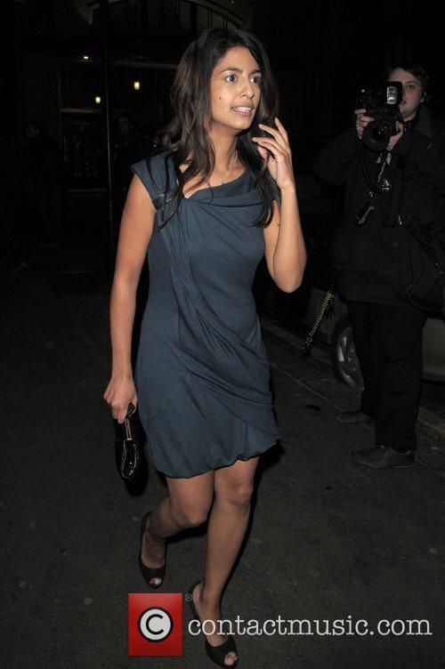 Guest at the Vogue Pre BAFTA Party...