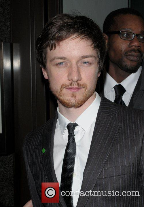 James McAvoy at the Vogue Pre BAFTA Party...