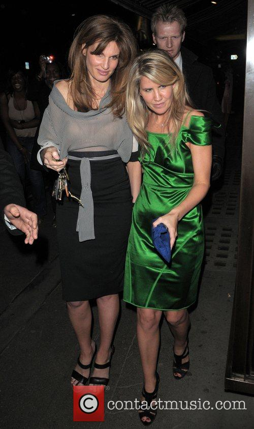 Jemima Khan at the Vogue Pre BAFTA Party...