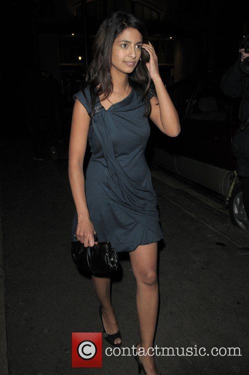 Konnie Huq at the Vogue Pre BAFTA Party...