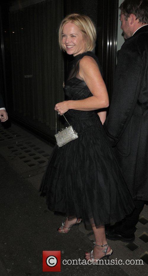 Mariella Frostrup at the Vogue Pre BAFTA Party...