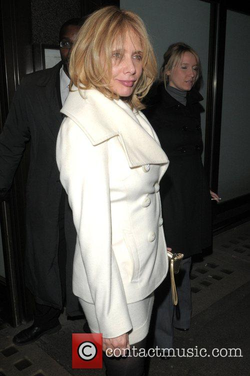 Rosanna Arquette at the Vogue Pre BAFTA Party...