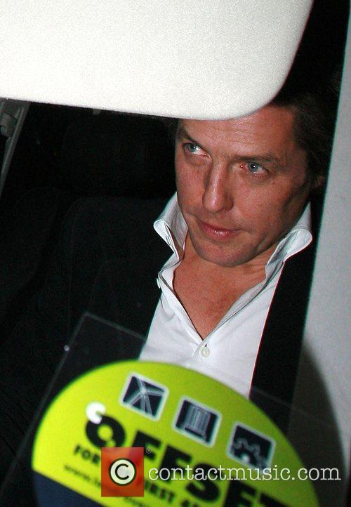 Hugh Grant Vogue Pre BAFTA Party  held...