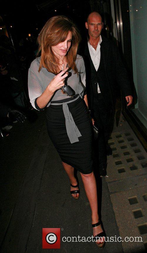 Jemima Khan Vogue Pre BAFTA Party  held...