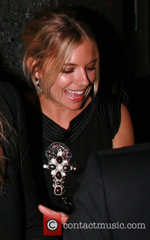 Sienna Miller Vogue Pre BAFTA Party  held...