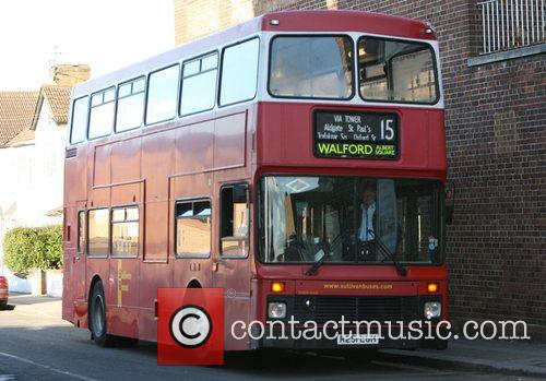 Walford bus London bus with the destination Walford...