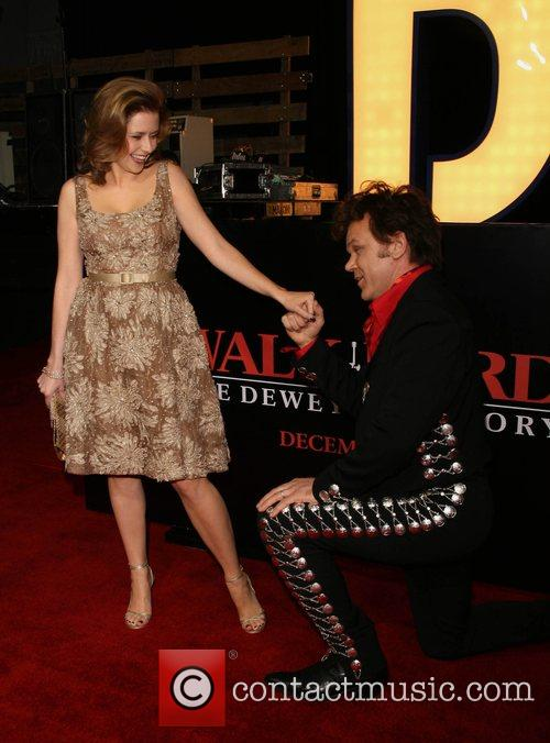 Jenna Fischer and John C. Reilly 10