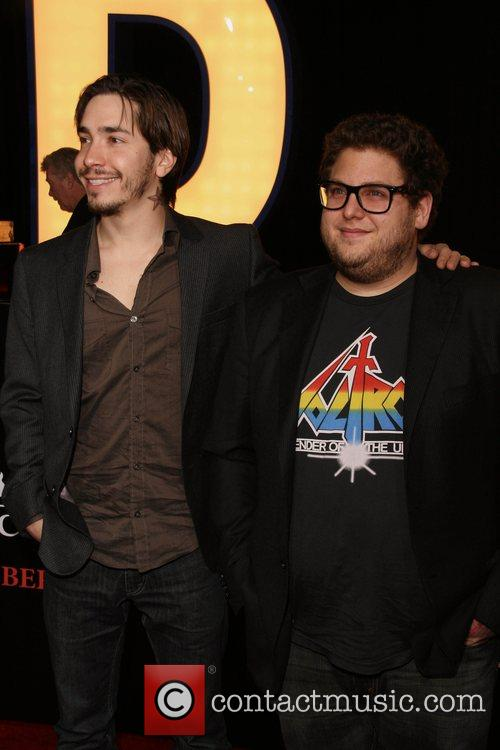 Justin Long and Jonah Hill  Premiere of...