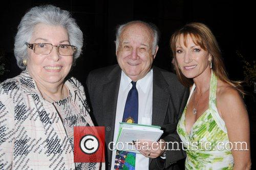 Elaine Wolpe, Rabbi Gerald Wolpe and Jane Seymour...