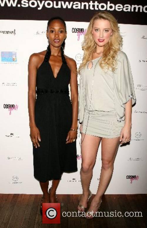Nicole Fiscella and Amber Heard The 5th Annual...