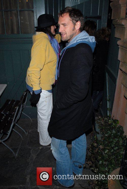Josh Lucas arriving at the Waverly Inn