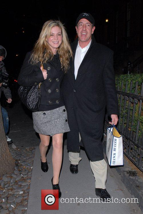 Michael Lohan and girlfriend arrive at the Waverly...