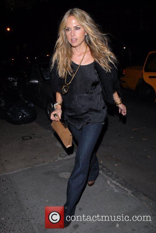 Rachel Zoe arrives at the Waverly Inn