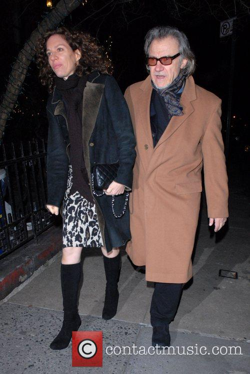 Daphna Kastner and Harvey Keitel